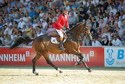 Lansink Jos, (BEL), Ensor de Litrange <br /> CSIO Nations Cup - Mannheim 2015<br /> © Hippo Foto - Stefan Lafrentz