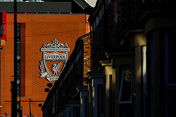 A general view of Anfield, home to Liverpool - Mandatory by-line: Robbie Stephenson/JMP - 02/10/2019 - FOOTBALL - Anfield - Liverpool, England - Liverpool v Red Bull Salzburg - UEFA Champions League Group Stage