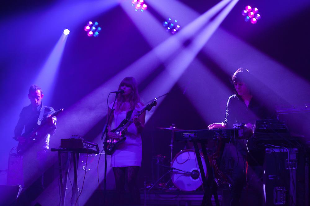 The Chromatics at The Thomas Wolfe Auditorium, 10/26/13 Mountain Oasis Festival