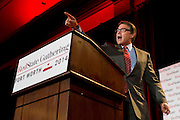 Texas Governor Rick Perry speaks during the 2014 RedState Gathering at the Worthington Renaissance Hotel in Fort Worth, Texas on August 8, 2014. (Cooper Neill for The Texas Tribune)