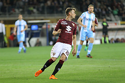 April 29, 2018 - Turin, Piedmont, Italy - Adem Ljajic (Torino FC) during the Serie A football match between Torino FC and SS Lazio at Olympic Grande Torino Stadium on April 29, 2018 in Turin, Italy..Final results is 0-1. (Credit Image: © Massimiliano Ferraro/NurPhoto via ZUMA Press)