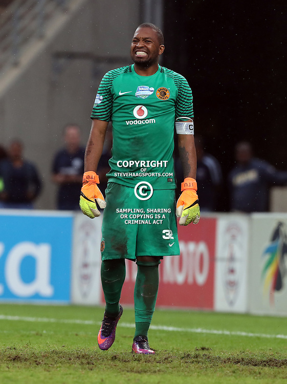 Itumeleng Khune G/K of Kaizer Chiefs during the Telkom Knockout quarterfinal  match between Kaizer Chiefs and Free State Stars at the Moses Mabhida Stadium , Durban, South Africa.6 November 2016 - (Photo by Steve Haag Kaizer Chiefs)