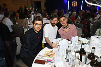 Years and Years at their table during the O2 Silver Clef Awards 2019, Grosvenor House, London, UK, Friday 05 July 2019<br /> Photo JM Enternational