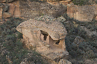 Eroded Boulder House ruins, Hovenweep National Monument, Arizona