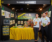IG Festival of Food 2015. Darwin Convention Centre. 2-3 May 2015. Booth and products of 7D Dried Mangoes. Photo by Shane Eecen/Creative Light Studios Darwin.