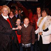 Russisch Kerstcircus 2003, Ria Hoogenwegen - Lubbers, kleinkinderen Willemijn + Emily, Sylvia Toth