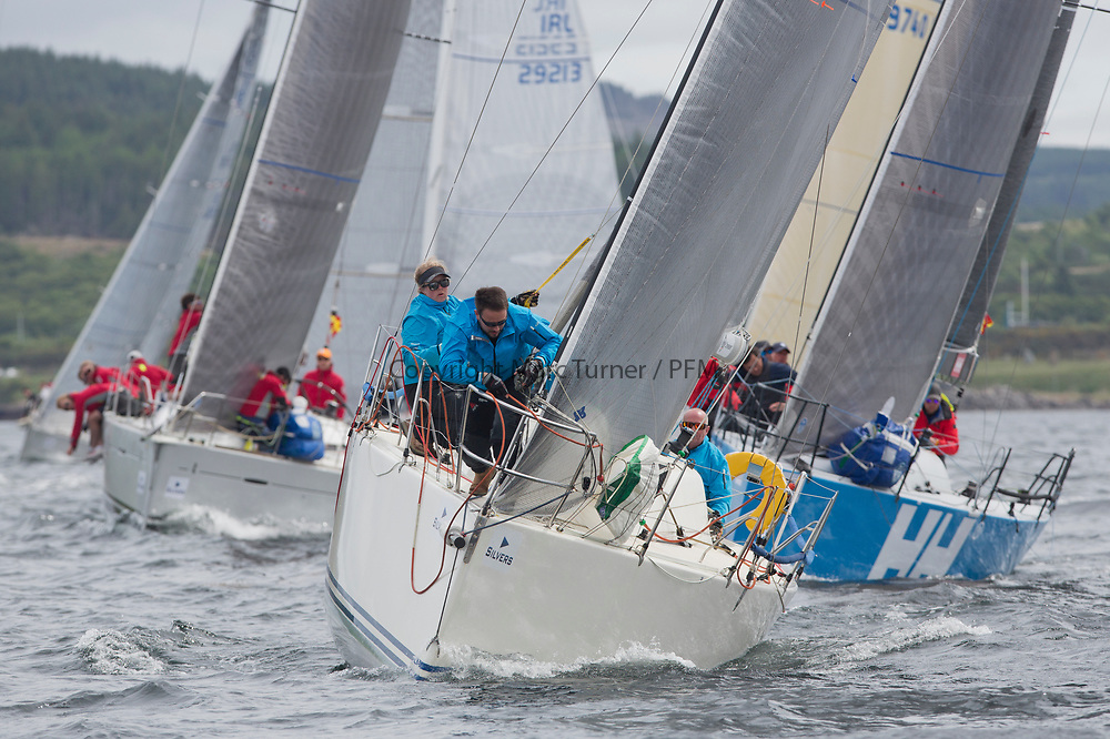 Silvers Marine Scottish Series 2017<br /> Tarbert Loch Fyne - Sailing Day 3<br /> <br /> GBR9470R, Banshee, Charlie Frize, CCC, Corby 33.