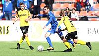 Fotball ,  OBOS-Ligaen<br /> 07.04.19<br /> Nammo Stadion<br /> Raufoss v Sandefjord  0-2<br /> Foto :  Dagfinn Limoseth , Digitalsport<br /> Håvard Storbæk  , Sandefjord