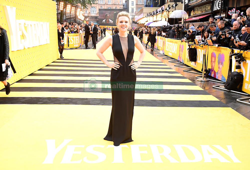 Kate McKinnon attending the Yesterday UK Premiere held in London, UK.