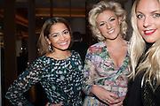 Katy Wickremesinghe; NATALIE COYLE; GABBY WICKHAM, Liberatum Cultural Honour  for John Hurt, CBE in association with artist Svetlana K-Lié.  Spice Market, W London - Leicester Square