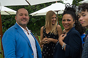 SIR JONATHAN IVE; NIMMY BURKE, Goodwood Festival of Speed Cartier lunch. 27 June 2015