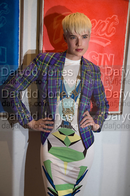 AGYNESS DEYNE , TODS Art Plus Film Party 2008. Party to raise funds for the Whitechapel art Gallery.  One Marylebone Road, London NW1, 6 March, 8.30 - late<br />  *** Local Caption *** -DO NOT ARCHIVE-&copy; Copyright Photograph by Dafydd Jones. 248 Clapham Rd. London SW9 0PZ. Tel 0207 820 0771. www.dafjones.com.
