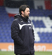 Dundee manager Paul Hartley - Ross County v Dundee, SPFL Premiership at The Global Energy Stadium<br /> <br />  - &copy; David Young - www.davidyoungphoto.co.uk - email: davidyoungphoto@gmail.com