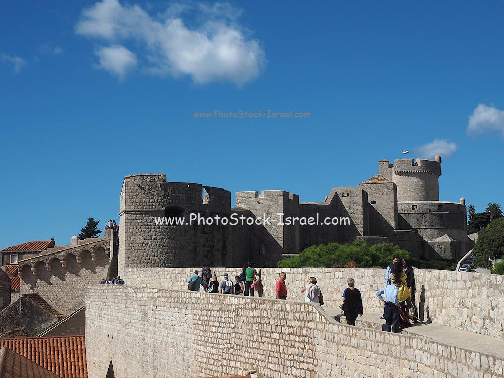 Fort Lovrijenac or St. Lawrence Fortress, Dubrovnik, Croatia,