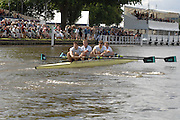 Henley, Great Britain.  Britannia Challenge Cup, left, Henley RC vs 1829 Boat Club in Sat's  semi final, at the 2007 Henley Royal Regatta,  Henley Reach, England 07/07/2007   [Mandatory credit Peter Spurrier/ Intersport Images]. Rowing Courses, Henley Reach, Henley, ENGLAND . HRR.