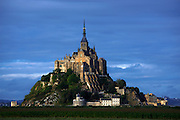 Mont St Michel, Lower Normandy, France