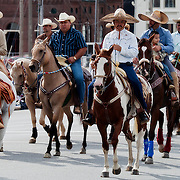 Caballeros in he American Royal Parade.