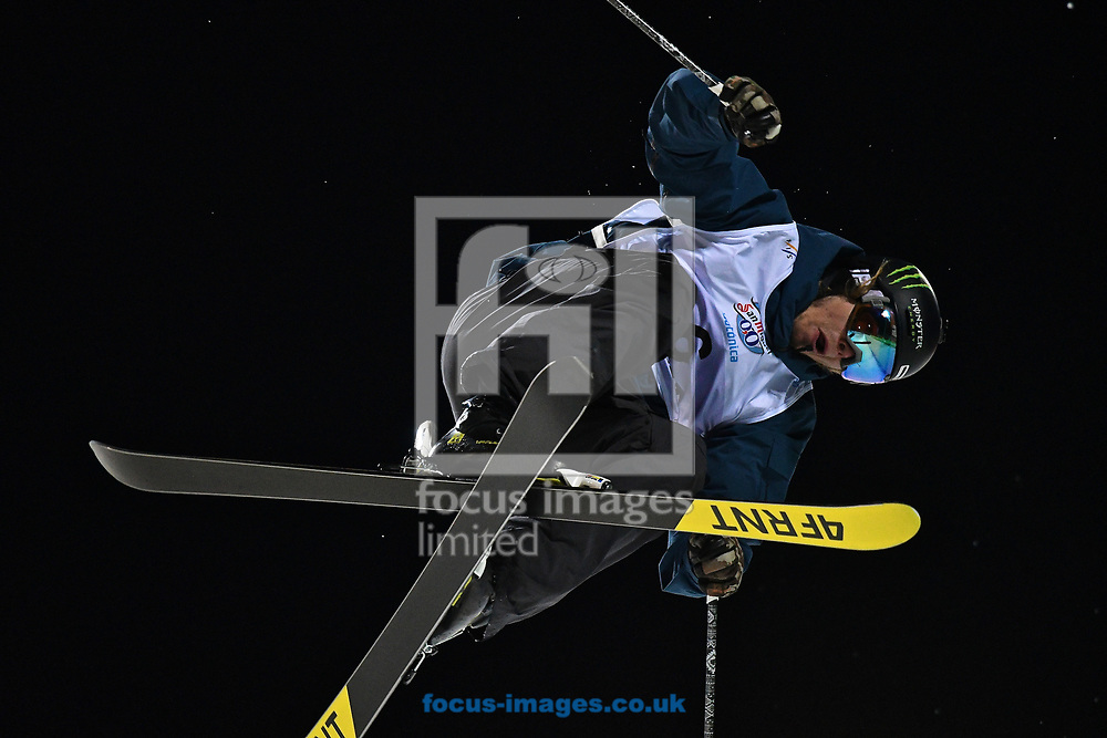 David Wise (USA) during the Men's Half Pipe Final on Day Eleven of the FIS Freestyle Ski &amp; Snowboard World Championships 2017 at Sierra Nevada Ski Station, Granada<br /> Picture by Kristian Kane/Focus Images Ltd +44 7814 482222<br /> 18/03/2017