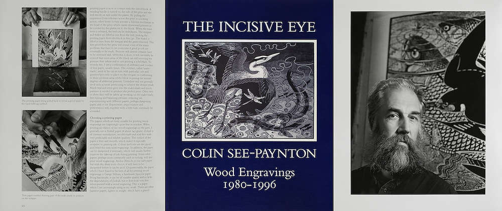 Colin See-Paynton, from a series of pictures commissioned by the GLYNN VIVIAN ART GALLERY.<br />