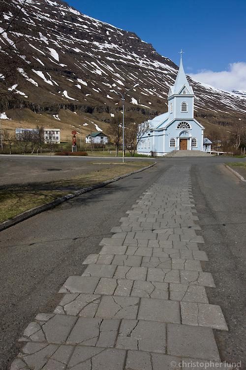 Seyðisfjarðarkirkja.
