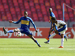Sibusiso Masina of Cape Town City during the 2016 Premier Soccer League match between Chippa United and Cape Town City held at the Nelson Mandela Bay Stadium in Port Elizabeth, South Africa on the 19th November  2016.<br /> <br /> Photo by:   Richard Huggard / Real Time Images