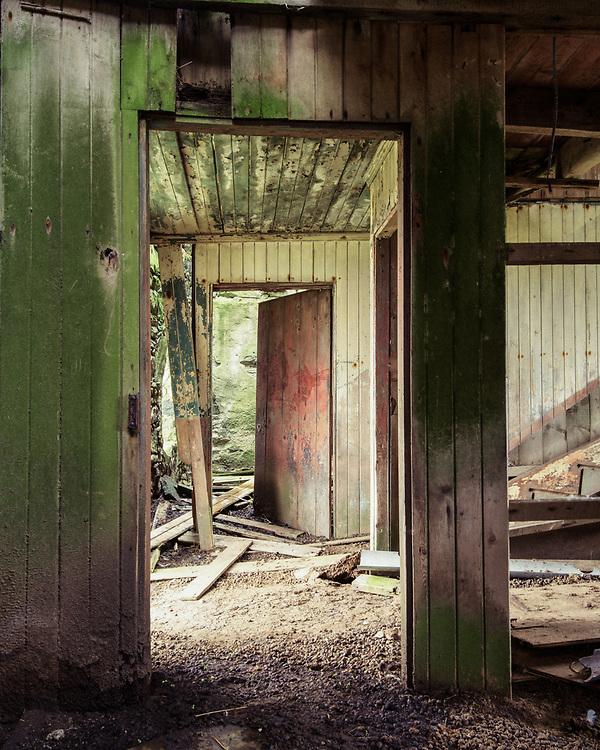 Abandoned house, Callanish,  Lewis, Scotland
