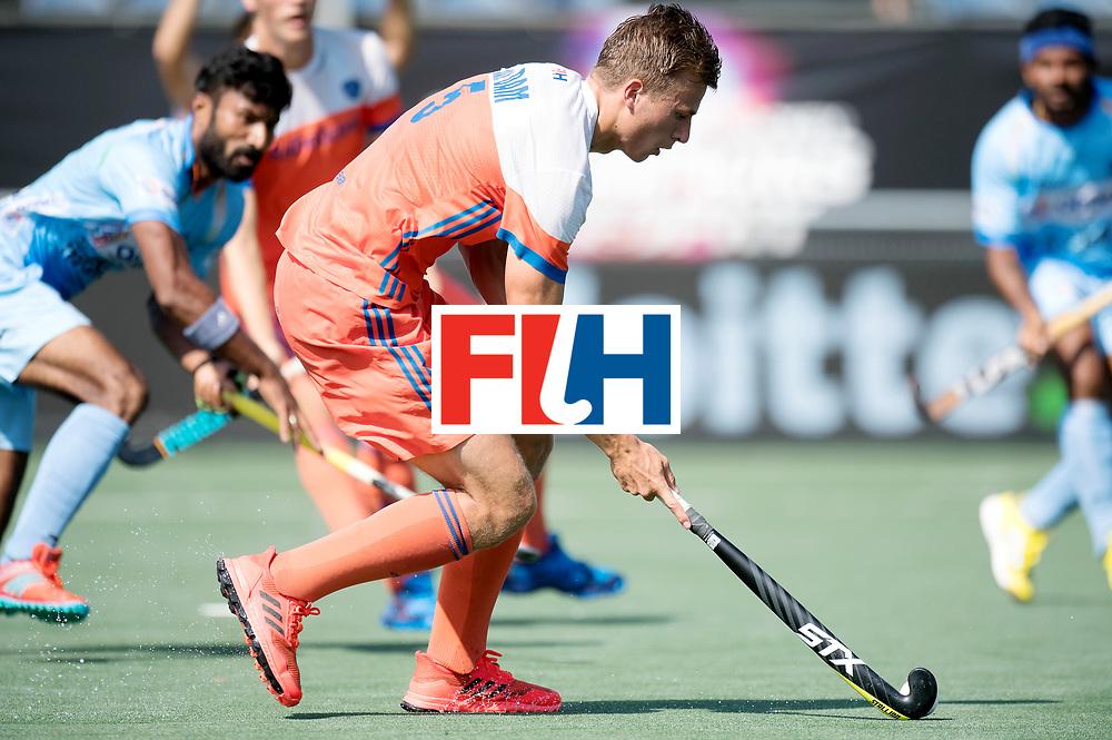 BREDA - Rabobank Hockey Champions Trophy<br /> The Netherlands - India<br /> Photo: Thijs van Dam.<br /> COPYRIGHT WORLDSPORTPICS FRANK UIJLENBROEK