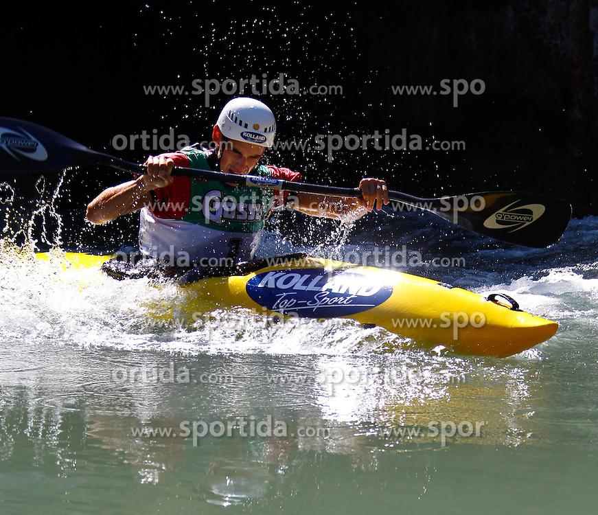 11.09.2010, Lienz, AUT, Redbull Dolomitenmann 2010, im Bild Kanute Marcel Potocny, SVK, Team Kolland Topsport . EXPA Pictures © 2010, PhotoCredit: EXPA/ J. Groder