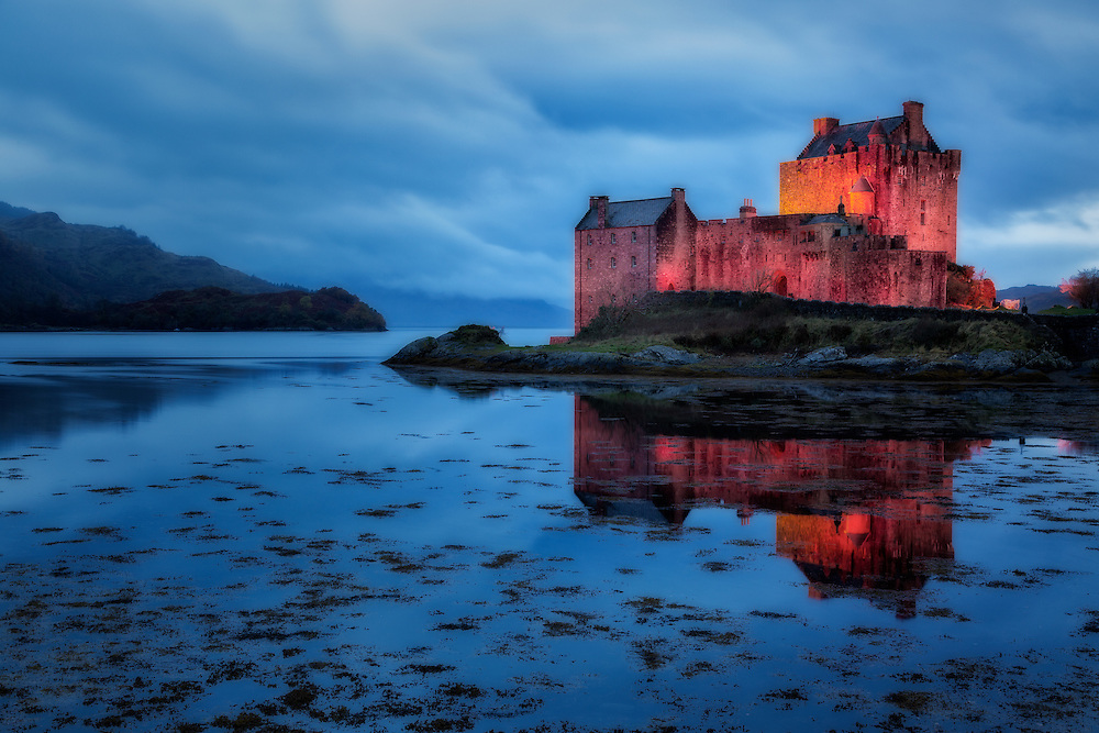 Eilean Donan Castle, Dornie, Kyle Of Lochalsh; Scotland