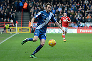 Birmingham City midfielder Will Buckley during the Sky Bet Championship match between Bristol City and Birmingham City at Ashton Gate, Bristol, England on 30 January 2016. Photo by Alan Franklin.