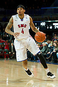 DALLAS, TX - JANUARY 21: Keith Frazier #4 of the SMU Mustangs drives to the basket against the Rutgers Scarlet Knights on January 21, 2014 at Moody Coliseum in Dallas, Texas.  (Photo by Cooper Neill/Getty Images) *** Local Caption *** Keith Frazier