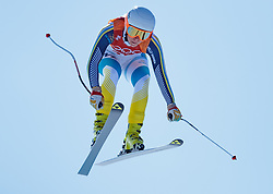 17.02.2018, Jeongseon Alpine Centre, Jeongseon, KOR, PyeongChang 2018, Ski Alpin, Damen, Super G, im Bild Lisa Hoernblad (SWE) // Lisa Hoernblad of Sweden in action during ladie's SuperG of the Pyeongchang 2018 Winter Olympic Games at the Jeongseon Alpine Centre in Jeongseon, South Korea on 2018/02/17. EXPA Pictures © 2018, PhotoCredit: EXPA/ Johann Groder