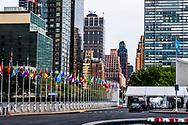 NEW YORK CITY - hoofdkantoor van de verenigde naties  gebouw ,copyrght robin utrecht