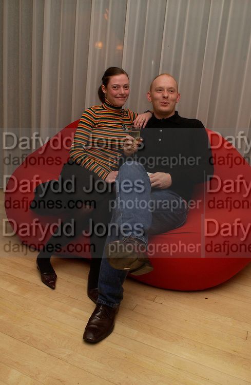 """Camilla Rutherford and Rufus Abbott. Camilla Rutherford. Official Pre-Brit Awards 2005 Pool Tournament"""" at The Sanderson Hotel February 8, 2005 in London. The party is hosted by Esquire Magazine ONE TIME USE ONLY - DO NOT ARCHIVE  © Copyright Photograph by Dafydd Jones 66 Stockwell Park Rd. London SW9 0DA Tel 020 7733 0108 www.dafjones.com"""