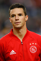 Nick Viergever of Ajax Amsterdam during the UEFA Europa League group G match between Ajax Amsterdam and Standard Liege at the Amsterdam Arena on September 29, 2016 in Amsterdam, The Netherlands