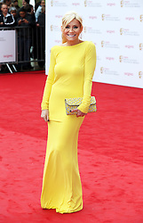 Michelle Collins arriving at the BAFTA Television Awards in London, Sunday, May 12th  2013.  Photo by: Stephen Lock / i-Images