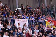 Moncada Fortitudo Agrigento tifosi<br /> Consultinvest Fortitudo Bologna - Moncada Fortitudo Agrigento<br /> LNP Serie A2 Playoff 2017/2018<br /> Ottavi di Finale<br /> Gara 1<br /> Bologna, 30/04/2018<br /> Foto M.Ceretti / Ciamillo-Castoria