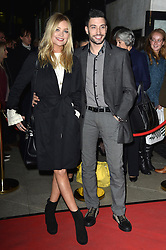 Laura Whitmore and Giovanni Pernice bei der Fire In The Ballroom VIP Opening Night in London / 191016<br /> <br /> <br /> *** Fire In The Ballroom VIP Opening Night in London on October 19, 2016 ***
