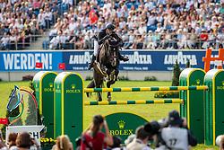 GUERY Jérome (BEL), Quel Homme de Hus <br /> Aachen - CHIO 2019<br /> Rolex Grand Prix - Stechen<br /> Teil des Rolex Grand Slam of Show Jumping, Der Große Preis von Aachen. Springprüfung mit zwei Umläufen und Stechen <br /> 21. Juli 2019<br /> © www.sportfotos-lafrentz.de/Stefan Lafrentz