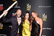 Director Gabriel Taraboulsy, Janet Zuccarini, and Juanita Dickson