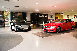 Hatfields Jaguar Sharrowvale Road Sheffield Newly Refurbished Showroom ...10 January 2010.Images © Paul David Drabble