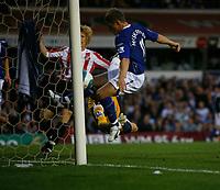 Photo: Steve Bond.<br />Birmingham City v Sunderland. The FA Barclays Premiership. 15/08/2007. Gary McSheffrey follows the ball into the net