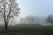 4/1/13 6:57:46 AM -- Washington, DC, U.S.A  -- Fog blanketed the White House Monday morning.   Photo by H. Darr Beiser, USA TODAY Staff  ORG XMIT: HB 43191  4/1/2013  (Via OlyDrop)