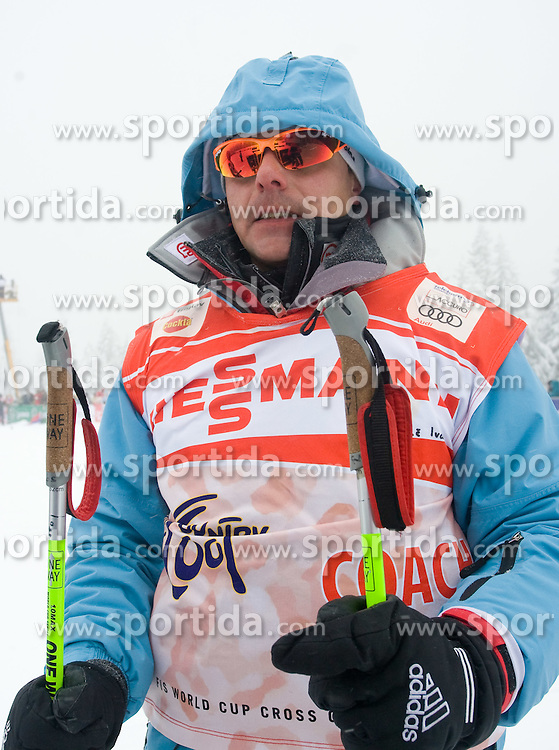 Coach Ivan Hudac at Ladies 1.4 km Free Sprint Competition of Viessmann Cross Country FIS World Cup Rogla 2009, on December 19, 2009, in Rogla, Slovenia. (Photo by Vid Ponikvar / Sportida)