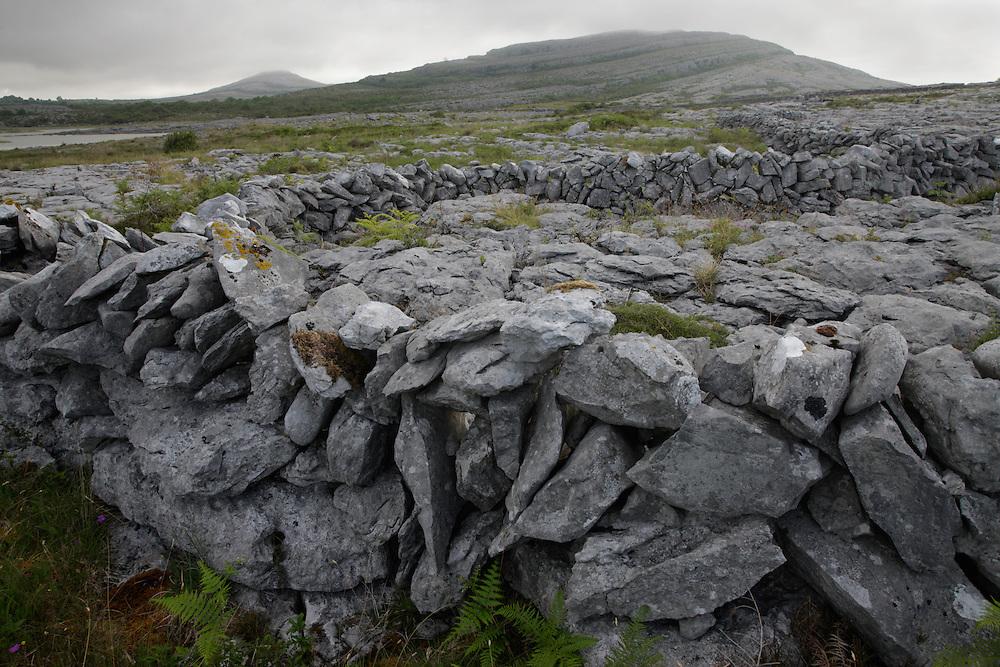 Karst Landscape Ireland Burren national park