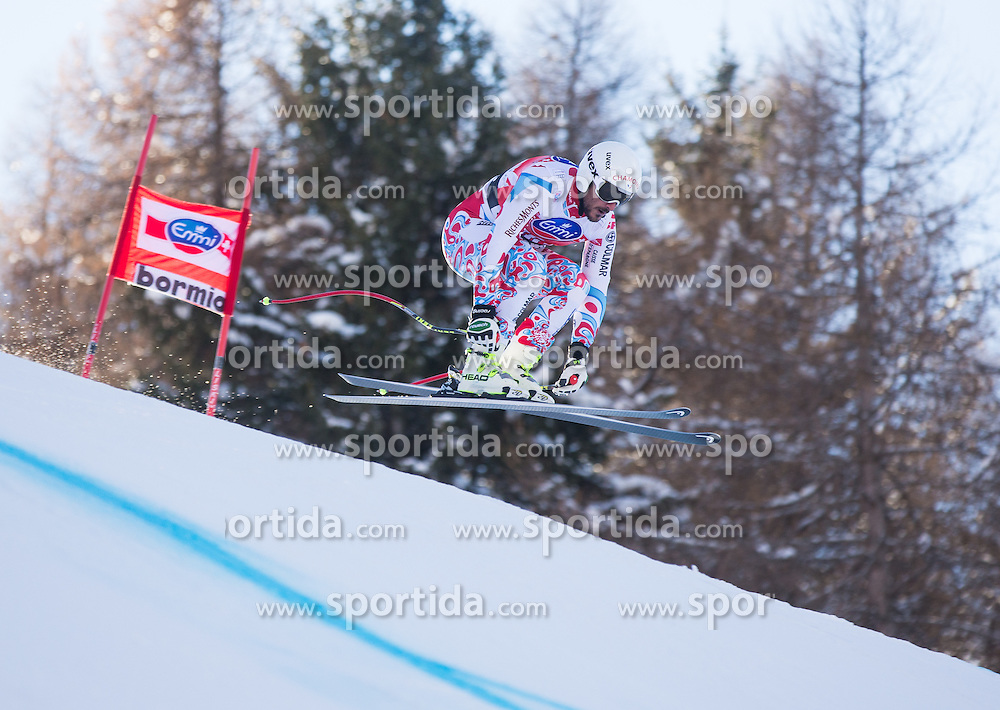 28.12.2013, Stelvio, Bormio, ITA, FIS Ski Weltcup, Bormio, Abfahrt, Herren, 2. Traininglauf, im Bild Guillermo Fayed (FRA) // Guillermo Fayed of France in action during mens 2nd downhill practice of the Bormio FIS Ski Alpine World Cup at the Stelvio Course in Bormio, Italy on 2012/12/28. EXPA Pictures © 2013, PhotoCredit: EXPA/ Johann Groder