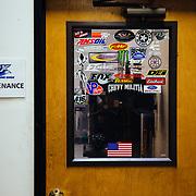 The maintenance room.