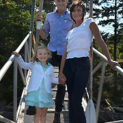 GEORGETOWN, Maine -- 6/30/14 -- Zike Family  portrait. DSC_2365<br /> Photo  ©2014 by Roger S. Duncan <br /> Released for all purposes to Zike Family