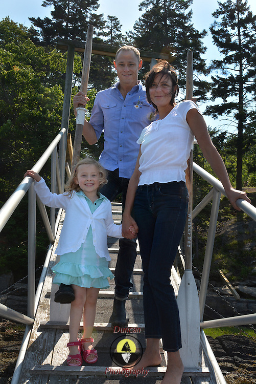 GEORGETOWN, Maine -- 6/30/14 -- Zike Family  portrait. DSC_2365<br /> Photo  &copy;2014 by Roger S. Duncan <br /> Released for all purposes to Zike Family