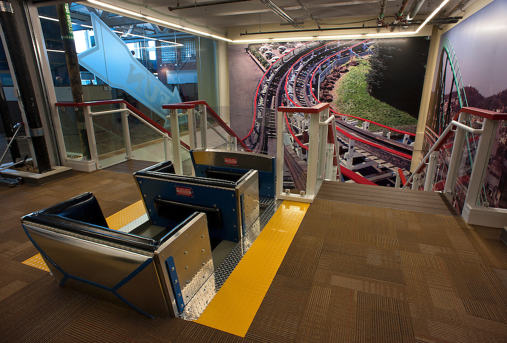 New Kennywood-themed offices at Google. ...